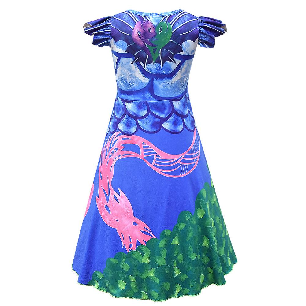 Descendants3 Sposare Caramella Costume Viola Vestito Dal Pannello Esterno Del Partito di Halloween Evie Prestazioni Vestito Dalla Principessa delle ragazze
