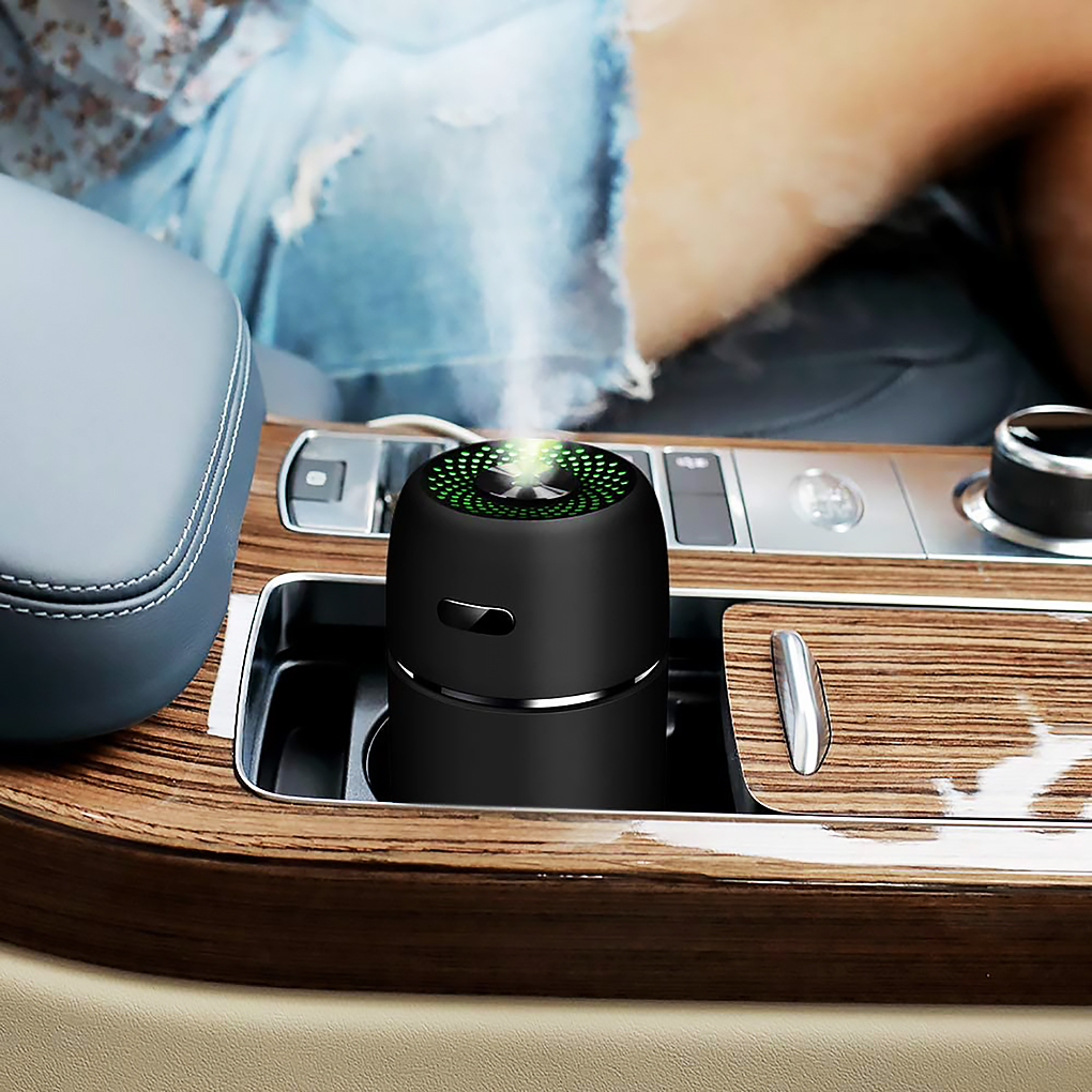 200ml USB Mini Air Humidifier Car Aroma Essential Oil Diffuser Home USB Fogger Mist Maker LED Night Lamp Accessories image