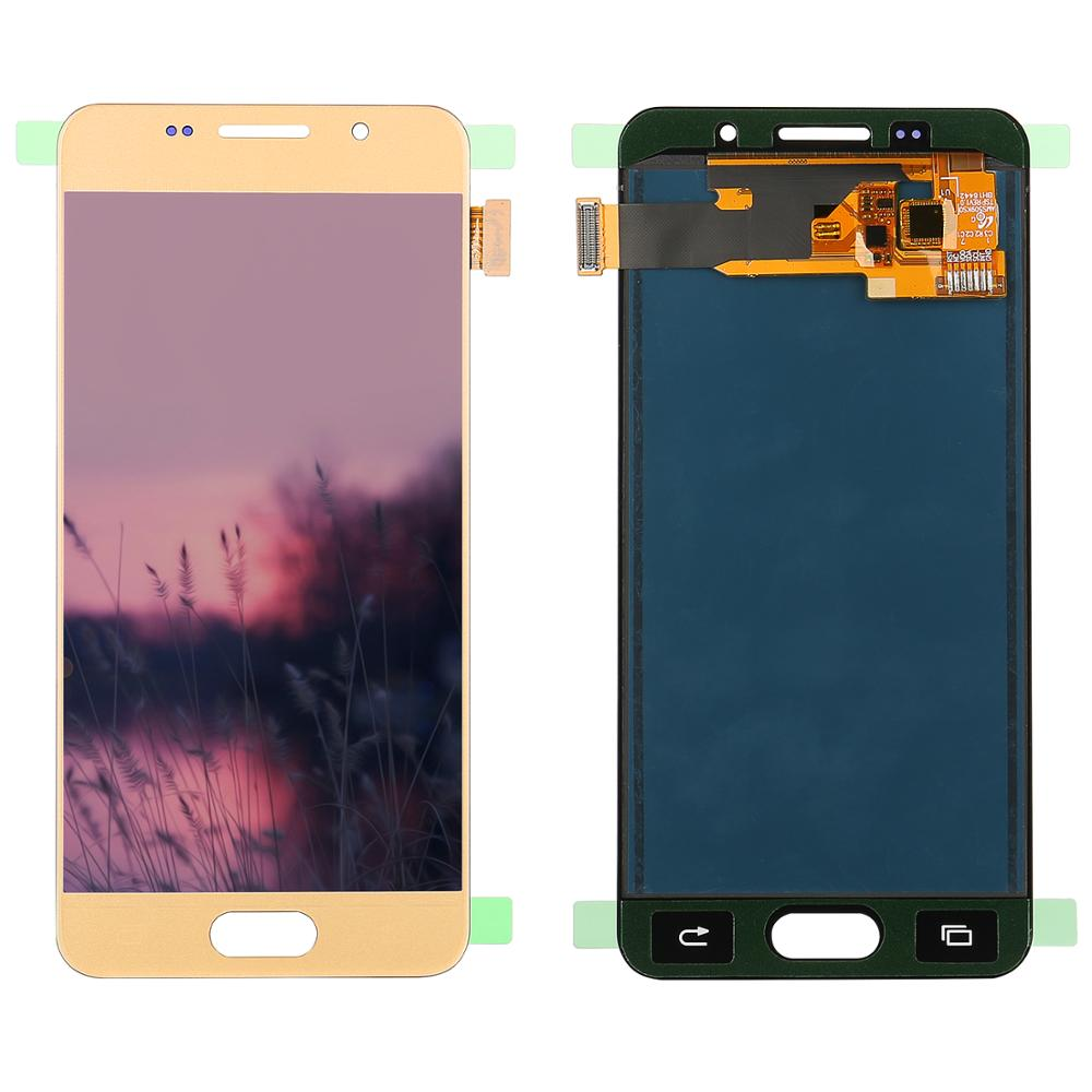For <font><b>Samsung</b></font> <font><b>Galaxy</b></font> <font><b>A3</b></font> <font><b>2016</b></font> LCD A310 <font><b>SM</b></font>-<font><b>A310F</b></font> A310H A310M Can Adjust Brightness LCD Display Touch Screen Digitizer Assembly Parts image