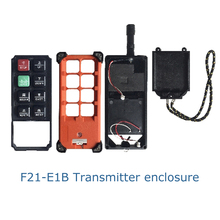 Telecontrol industrial wireless crane  remote control F21E1B F21-E1B transmitter emitter complete enclosure box without PCB part
