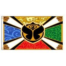 90x150cm Tomorrowland bandeira