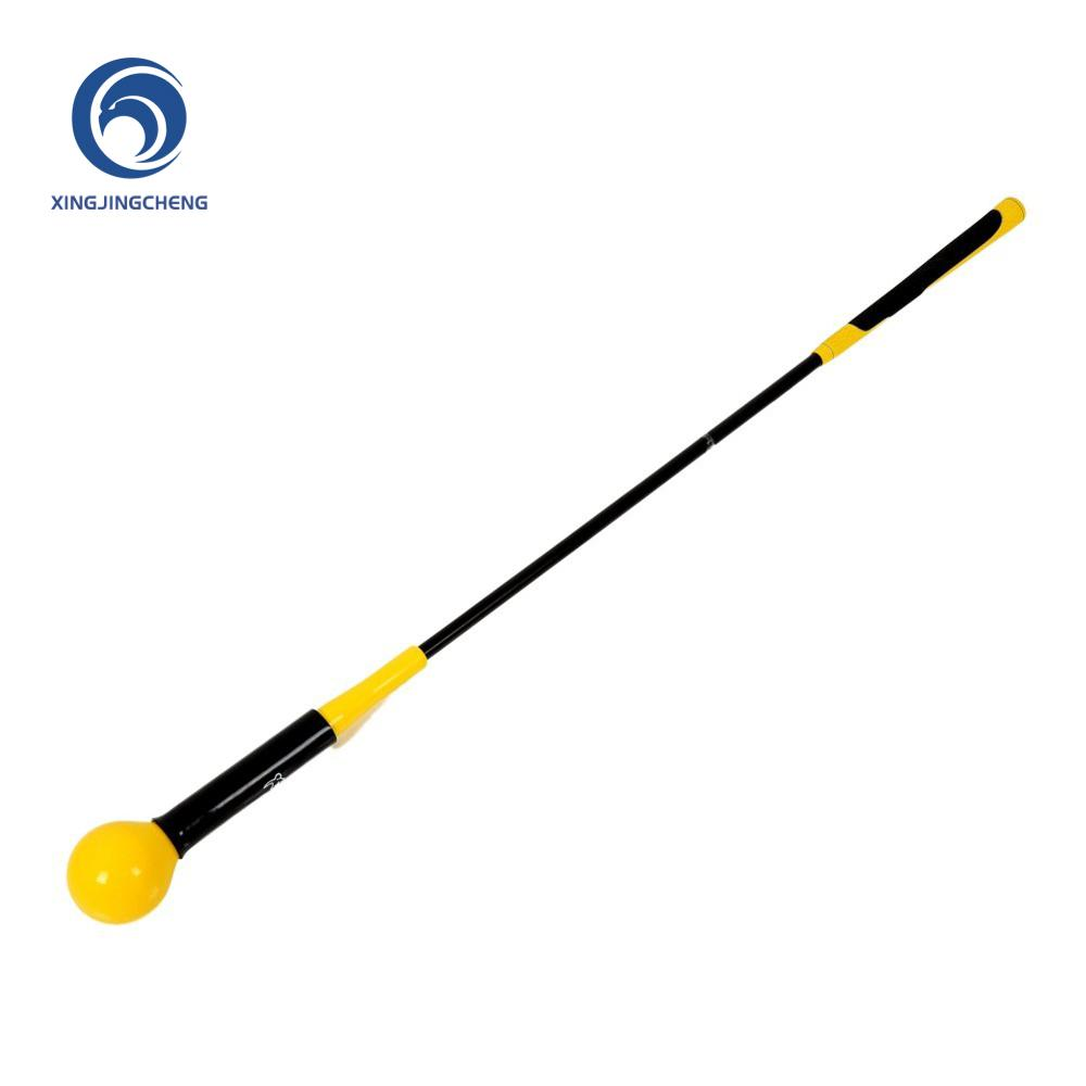 Golf Training Aid Swing Trainer And Correction Strength Grip Tempo & Flexibility Training For Indoor Practice Chipping Hitting