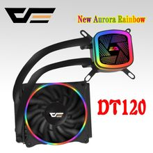 darkFlash aigo PC Case Computer CPU Fan T120/240 Water Cooler Heatsink Integrated Water Cooling Radiator Intel/AMD Support(China)