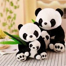 Плюшевая имитация гигантская панда Подушка с енотом, декоративная подушка, Персонализированные подушки, милая панда мама и ребенок панда, игрушка, подарок на день рождения
