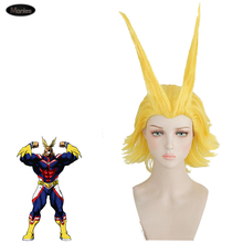 Anime My Hero Academia Costume All Might Cosplay Wigs Adult