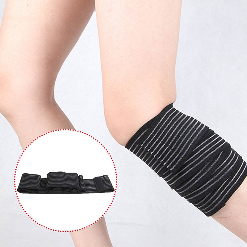 Fitness Elastic Knee Sleeve Bandage Sport Running Joint Brace Protective Knee Brace Compression Pads Workout Leg Protector