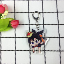 Anime Haikyuu Kageyama Hinata Kenma Kozume Acryl Figuur Sleutelhanger Sleutelhanger Decoratie Collectie Model Speelgoed Cosplay(China)