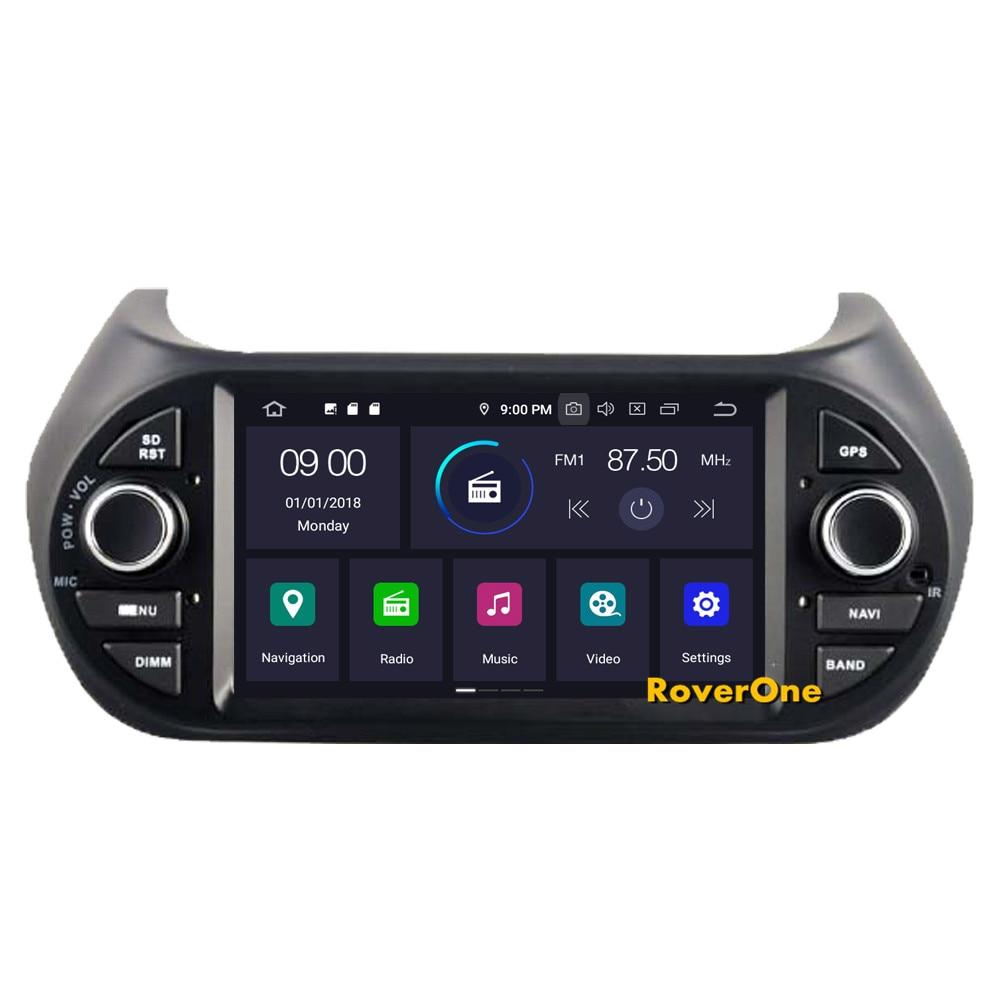 Best RoverOne Car Multimedia Player For Fiat Fiorino Qubo For Citroen Nemo For Peugeot Bipper Android 9.0 Octa Core Radio Navigation 3