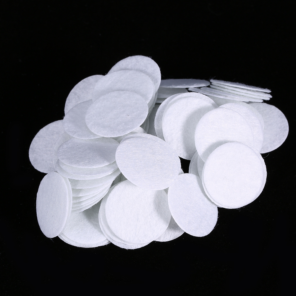 100pcs New Cotton Filtering Pads Filter Round For Blackhead Removal Device Eliminating Beauty Machine 10mm/15mm/20mm/25mm