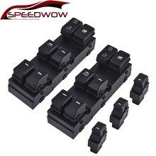 Speedwow mestre interruptor da janela de energia elétrica botão definido para kia sportage 2011 2012 2013 2014 2015 oe #93570-1x000