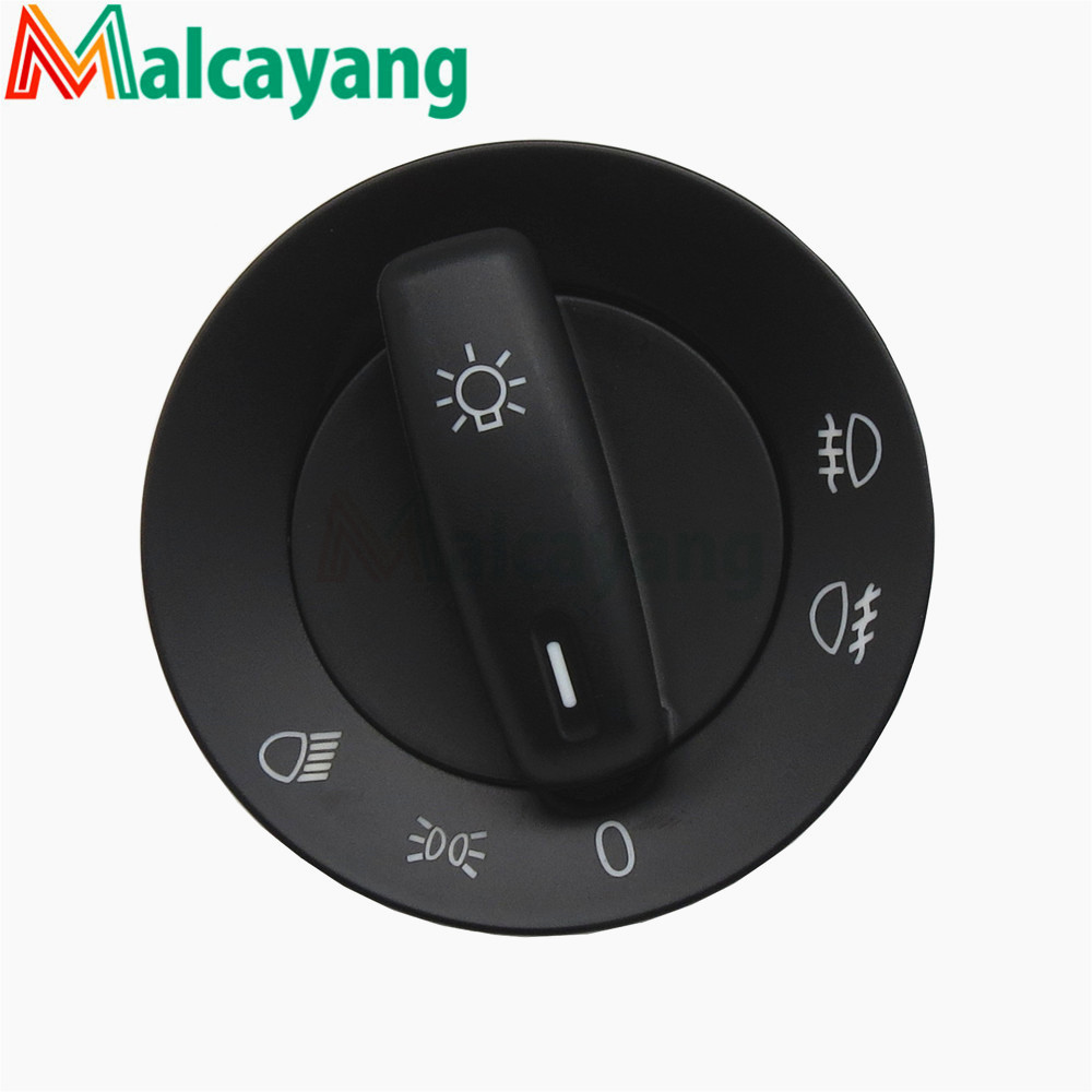 High Quality Car <font><b>Headlight</b></font> Fog Light Switch For <font><b>VW</b></font> <font><b>Golf</b></font> MK5 Jetta <font><b>MK3</b></font> For Passat 1K0941431Q image
