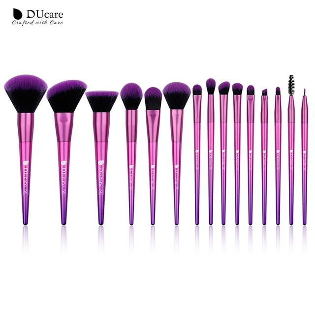 DUcare Trang Điểm Bộ 15 Viên Chuyên Nghiệp Tóc Tổng Hợp Cho Trang Điểm Phấn Mắt Nền Bột Beauty Cần Thiết