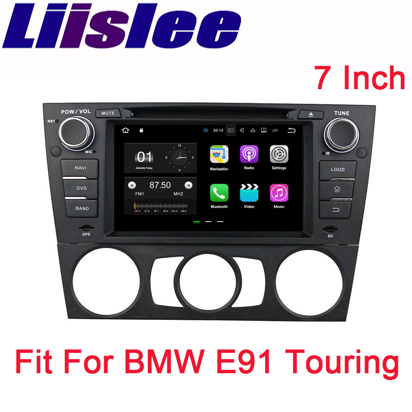 Liislee For BMW E90 2005~2012 Android Car Navigation GPS Audio Video Radio Big Screen Stereo Multimedia Player Bluetooth image