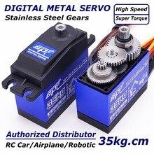 Boîtier dengrenage métallique pour avion de grimpeur en métal SPT5435LV SPT5535LV 35kg grand couple Standard, Servo numérique, étanche pour 1:8 1:10 RC voiture
