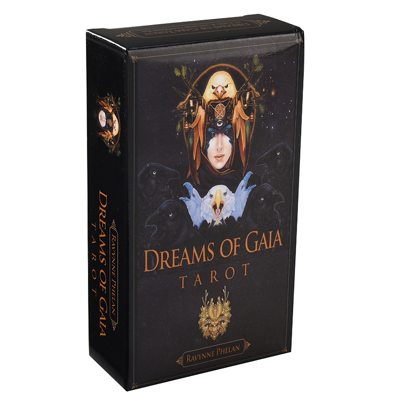 Dreams Of Gaia Tarot Cards Game English Tarot Deck Table Card Board Games Party Playing Tarot Cards Entertainment Family Games