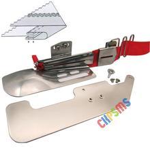 1 juego #795824025 + KP 104 Compatible con JANOME COVERPRO 900,1000,1000CP,1000CPX,2000 placa Base y carpeta (B) accesorio