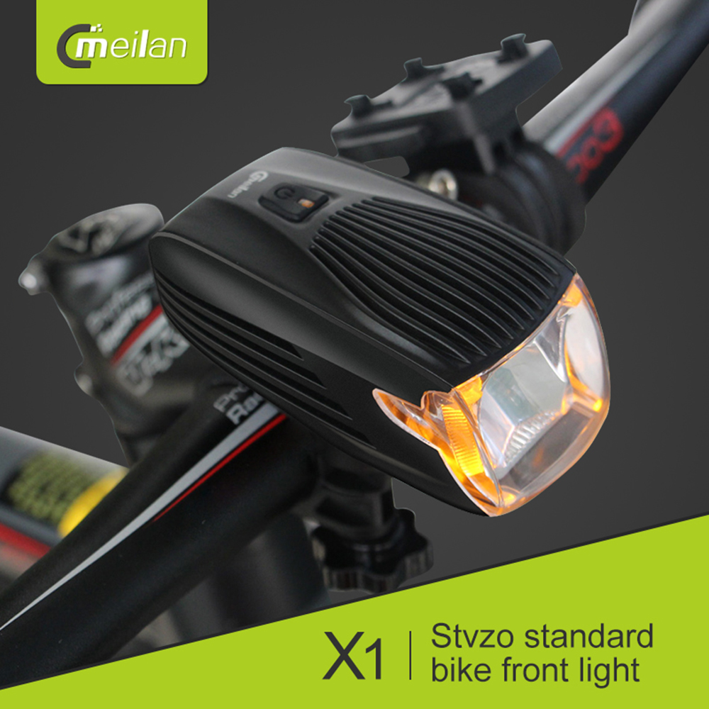 Meilan X1 Bike Bicycle light LED Lamp Bike Front Light MTB Intelligent USB Rechargeable Bike Lamp Accessories|Bicycle Light|Sports & Entertainment - title=