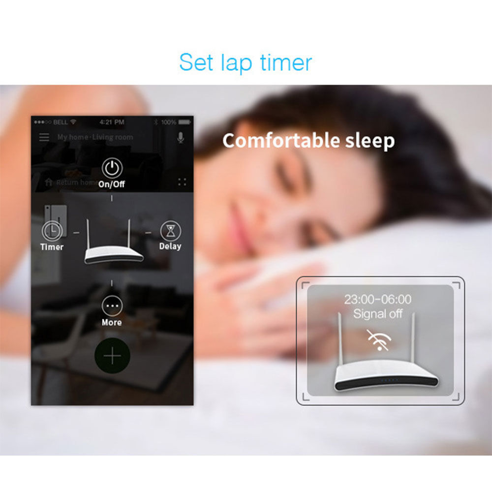 Broadlink Smart Socket Smart Home WiFi  EU Plug Outlet work with ALexa Google Home APP Remote Control Wireless Remote Controller