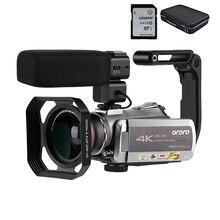 Camcorder 4K Video Camera Filmadora ORDRO AZ50 64X Digital z