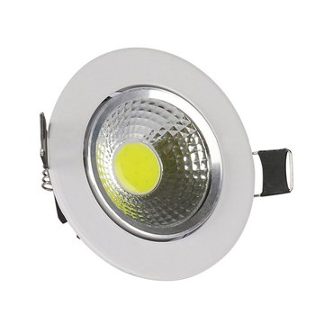 LED Downlight Indoor COB Ceiling Light Spot Light Round White Panel Light Downlight Background Wall Hotel Decoration Lamps image