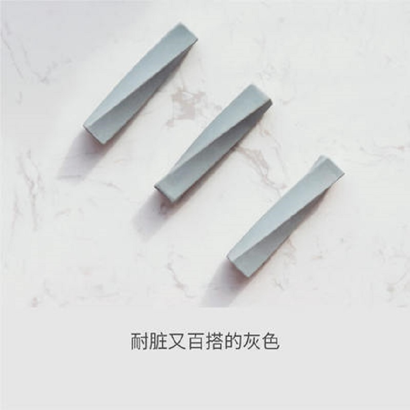 Warping Rotating Twist Pencil Plastic Eraser Wild Grey Spiral Design Without Pvc Children Eraser Student Plastic Eraser