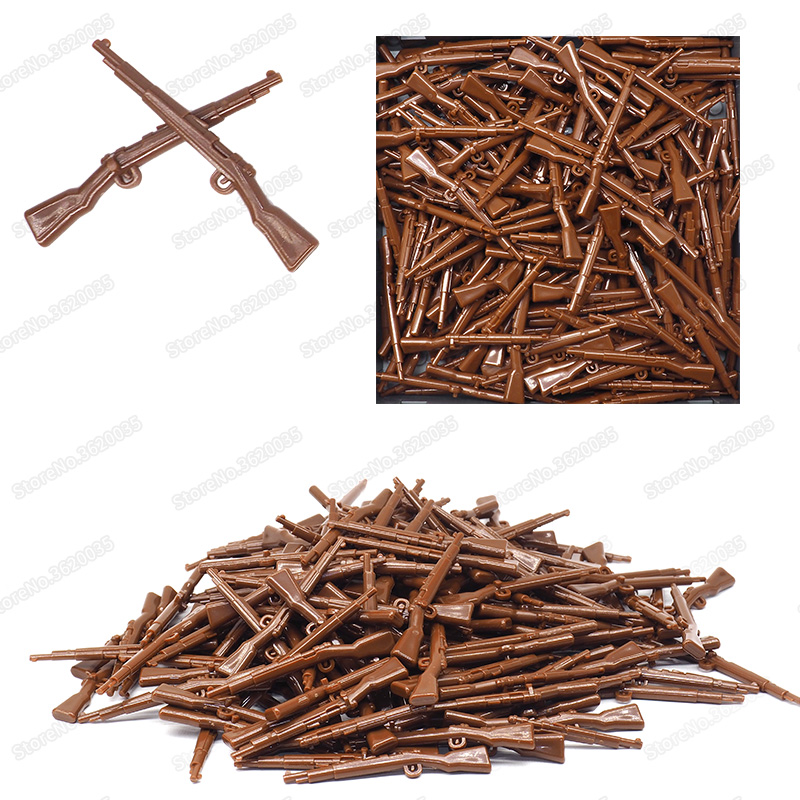 Legoinglys Weapons Military Building Blocks Rifle Germany Figures 98k Set Diy World War 2 Army Gun Moc Child Christmas Gift Toys in Blocks from Toys Hobbies