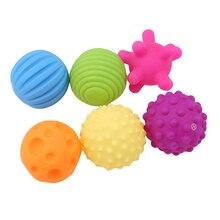 Baby Toy Ball-Set Training-Ball Tactile Develop Touch Massage Senses 6pcs/Set