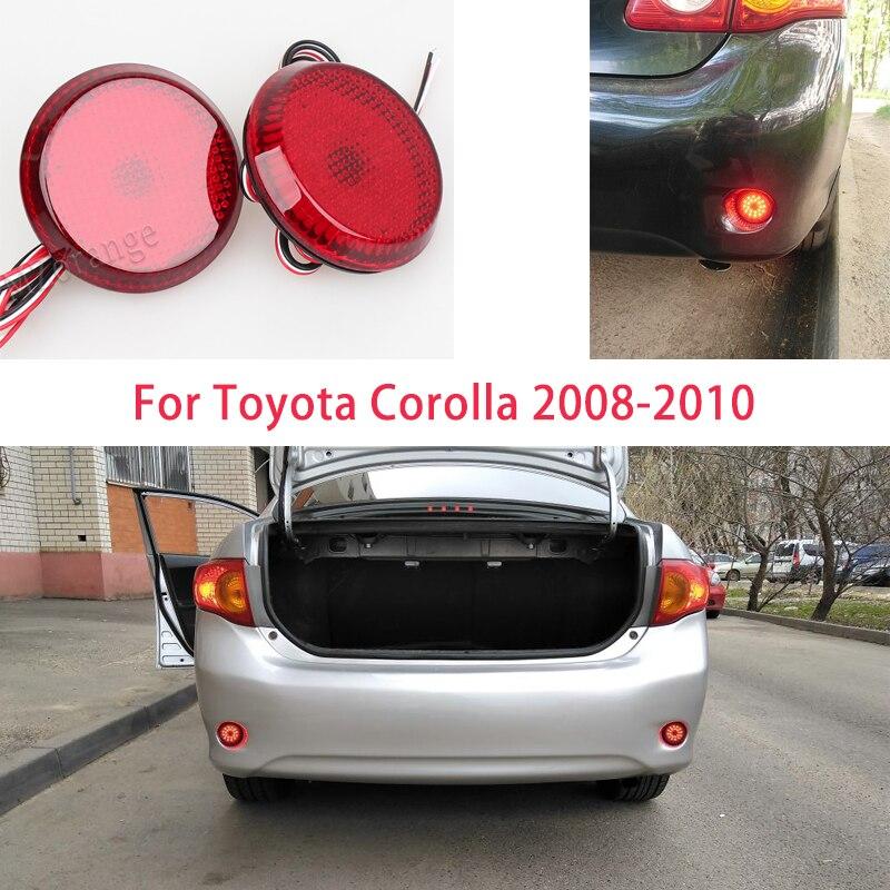 Sinal de parada para carros reflexivo led traseiro refletor luzes lâmpadas freio parar luz para nissan/qashqai/para toyota/corolla