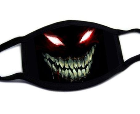 Fashion Cute Cartoon Face Mask Anti-proof Sun Protection Unisex Dust Mouth Mask Multi Style Anti-flu Cotton Facial Protective-H 1