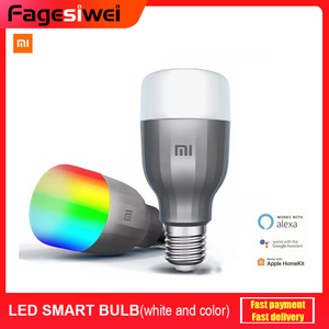 Xiaomi Mi LED Smart Bulb Color And White MJDP02YL APP WIFI Voice Control 10W 800lm 1700-6500K Color Temperature Lamp(China)