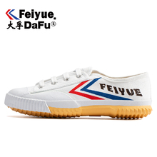 Купить с кэшбэком Dafu Feiyue Shaolin Kungfu Canvas Shoes Men's and Women's Sneakers Spring Autumn Casual Low Skateboarding Shoes Sandals 501