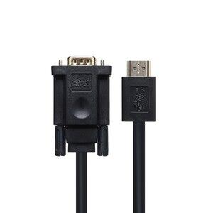 Image 5 - PCER HDMI VGA Cable HDMI male to VGA male cable For PC Monitor HDTV Projector HDMI TO VGA cord