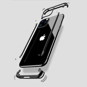 Image 2 - Spider Cassa Del Respingente Per il iPhone 11 Pro Max X XR XS iPhone11 di Marca di Lusso di Alluminio del Metallo Antiurto Telaio di Copertura Del Telefono accessori
