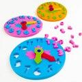 Обучающие часы для детского сада, ручные часы из ЭВА «сделай сам» для раннего обучения, детские игрушки для детей, Обучающие пособия по мето...