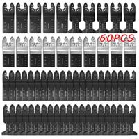 20/60pcs Multi Function Bi metal Precision Saw Blades Oscillating Blade Multi Wood Cut Kit Chipboard  Tool Circular Saw Blade Saw Blades     -