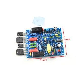 Image 5 - 2 sztuk 2 kanały QUAD405 100W + 100w moc dźwięku płyta wzmacniacza zestaw DIY zmontowana płyta