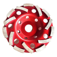 125mm Diamond Grinding Disc Double Turbo Abrasives Concrete Tool Grinder Wheel Cutting Grinding Wheel Cup