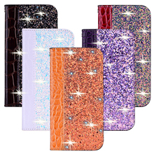 kisscase luxury business flip case for samsung galaxy s10 back cover leather case for samsung a50 note8 s7 note10 s8 s9 s8 plus Glitter Bling Flip phone Case For Samsung S10 S9 S8 Plus Leather Flip Book Case Coque for Galaxy A50 A70 A40 A30 A20 A10 Note10