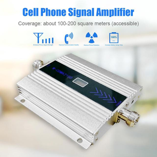 3G Mobile Phone Signal Amplifier Repeater Power Amplifier Public Broadcasting WCDMA Repeater Cell Phone UMTS Antenna Extender