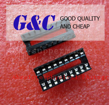 10PCS 18-Pin DIL DIP IC Socket PCB Mount Connector NEW GOOD QUALITY diy electronics