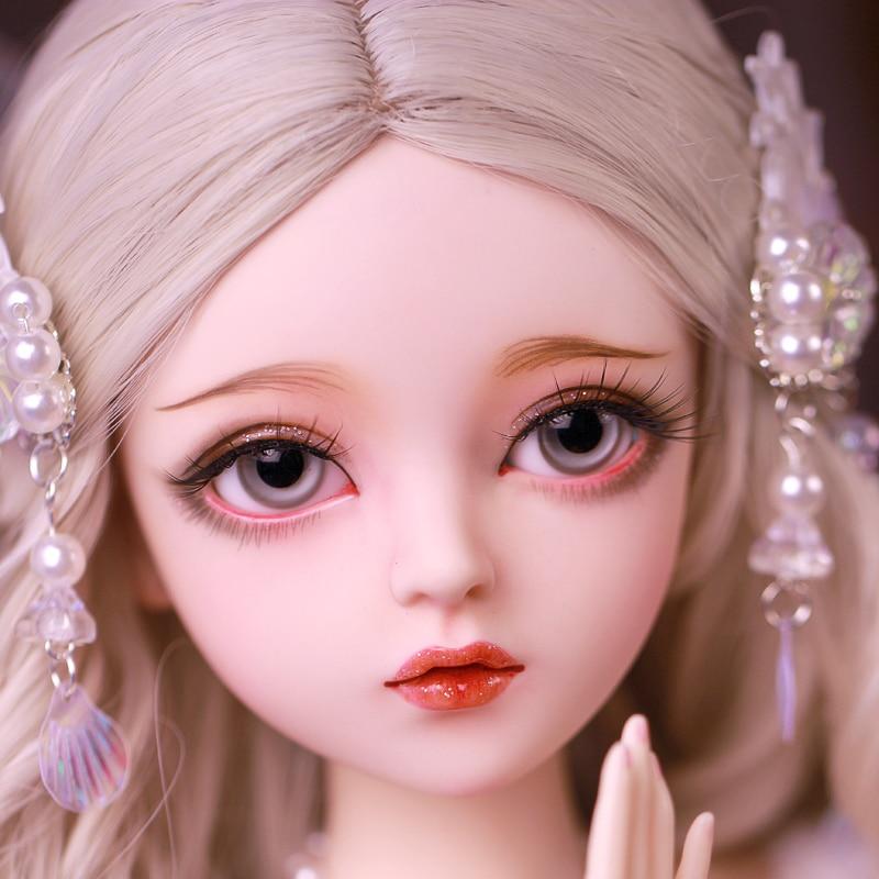 Шарнирная кукла, подарок для девочки, полный комплект куклы с одеждой и изменяющими глаза, кукла «сделай сам», лучший подарок на день Святого Валентина, кукла неме ручной работы, 1/3 2