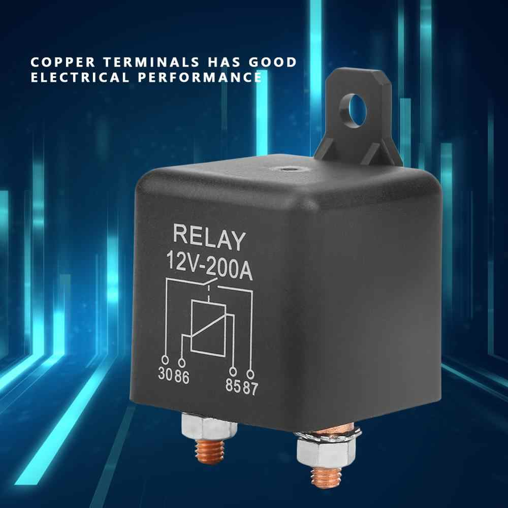 WM686 Mobil Mulai Relay 12V 4 Pin Tugas Berat Otomotif Mobil Auto Relay On/OFF Switch Relay RL/180 200A Starter Alat Bagian