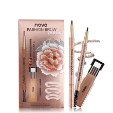 Eyebrow-Pencil Makeup-Tools-Kit Beauty Lasting Waterproof with 3pcs Refill Long Does