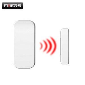 Image 1 - Fuers Wireless Home Tür Fenster Einbrecher Sicherheit Magnetische Sensor 433MHz Tür Detektor für KERUI Home office Sicherheit ALARM System