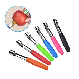 Apple Pear Peach Coring Device Digging Tool Kitchen Fruit Corer Separator Slicer Peeler Slicers Kitchen Gadgets Dropshipping New(China)