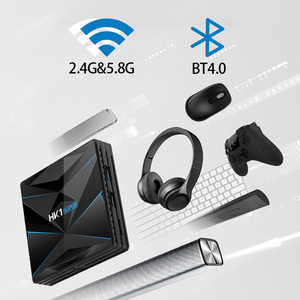 Image 5 - HK1 Super Android 9.0 TV BOX Google Assistant RK3318 4K 3D Utral 4G 64G TV Wifi Play Store Free Apps Fast Set top Box