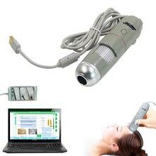 USB 5X-200X Intelligent Dermal Detector Smart Skin Analyzer Hair Analysis Detection Beauty 8LED Digital Scalp Hair Microscope