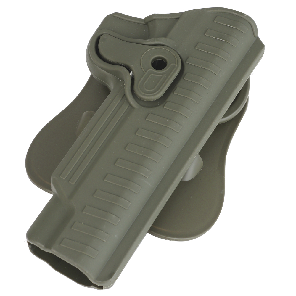 <font><b>1911</b></font> Military Glock <font><b>Holster</b></font> Tactical Airsoft Pistol Belt Vest <font><b>Holster</b></font> New <font><b>MOLLE</b></font> System Mount Glock Accessories GB44 image