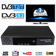Vmade Digital Terrestrial Satellite TV Receiver Combo DVB-T2 DVB-S2 1080P HD TV Tuner Receptor H.264 MPEG-2/4 set top box