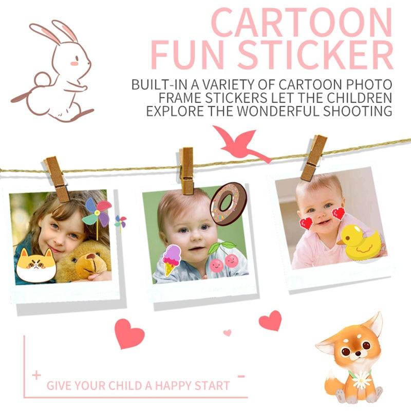 Child camera HD digital camera 2 inch cute cartoon Camera toys children birthday gift 1600w child toys Camera 3